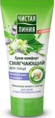 Cream comfort for face  with lime blossom and licorice 50 ml