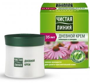 Day Cream for Dry Skin with Echinacea and Licorice 45 Ml