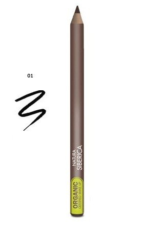 Organic Black Eyes Pencil Natura Siberica