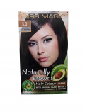 "Hair Colour ""Miss Magic"" 108 G - #3 Natural Dark Brown With Jojoba, Avocado Oil, Almond Oil"